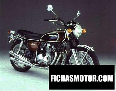 Imagen moto Honda cb 500 f año 1974