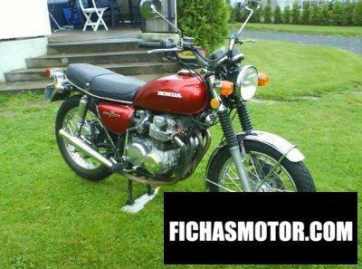 Imagen moto Honda cb 500 f año 1975