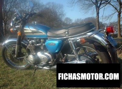 Imagen moto Honda cb 500 f año 1976