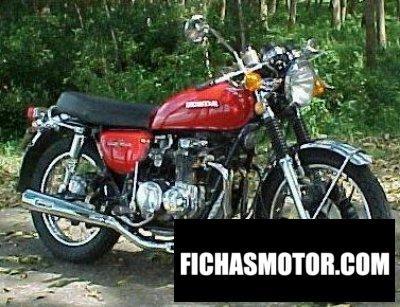 Imagen moto Honda cb 500 f año 1977