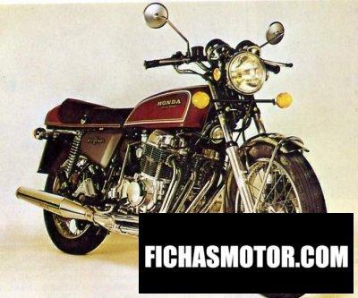 Imagen moto Honda cb 550 f 1 año 1976