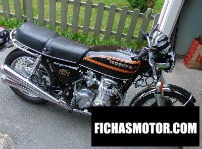 Imagen moto Honda cb 550 f año 1977