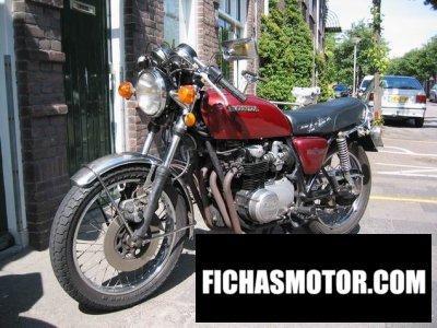 Imagen moto Honda cb 550 f 2 año 1978