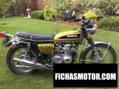 Ficha técnica Honda cb 550 four k 1973