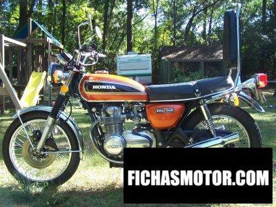 Ficha técnica Honda cb 550 ss 1975
