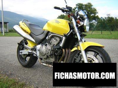 Ficha técnica Honda cb 600 f hornet 2002