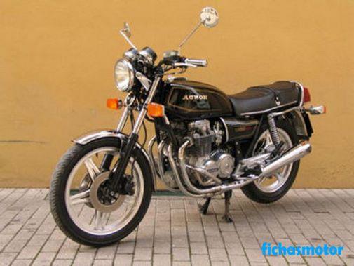Ficha técnica Honda cb 650 1980
