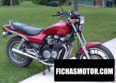 Ficha técnica Honda cb 650 rc 1983