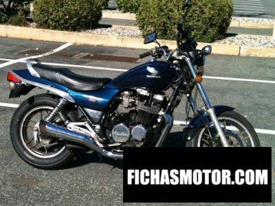 Ficha técnica Honda cb 650 sc 1985