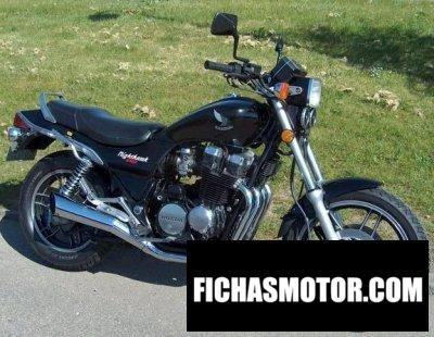 Imagen moto Honda cb 650 sc nighthawk año 1984