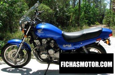 Ficha técnica Honda cb 750 1993