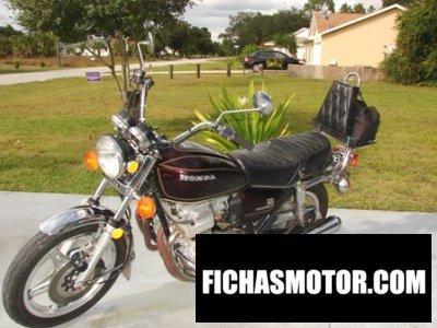Imagen moto Honda cb 750 a hondamatic año 1978