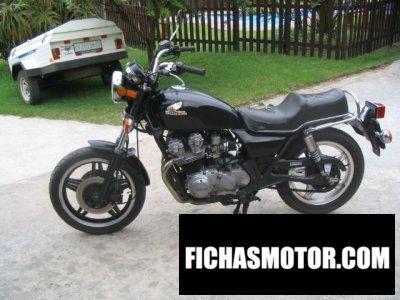 Ficha técnica Honda cb 750 c 1980