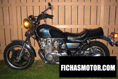 Ficha técnica Honda cb 750 c 1981