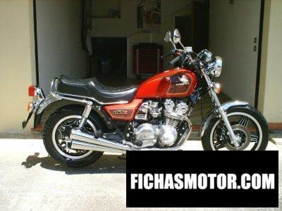 Imagen moto Honda cb 750 c año 1982