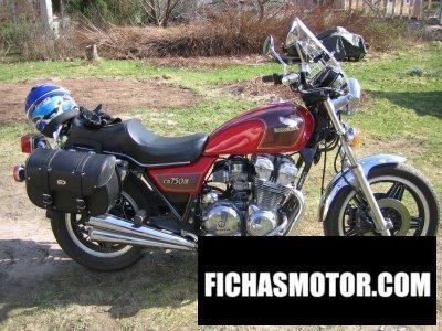Imagen moto Honda cb 750 c año 1983
