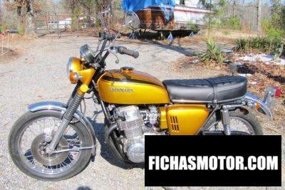 Ficha técnica Honda cb 750 f 1970