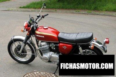 Imagen moto Honda cb 750 f año 1971