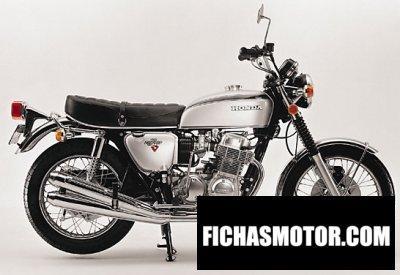 Ficha técnica Honda cb 750 f 1972
