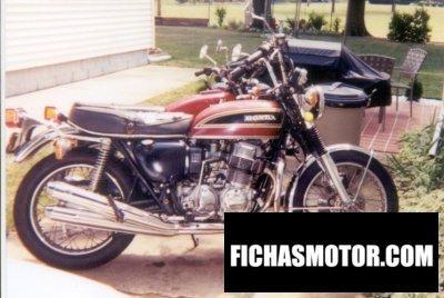 Imagen moto Honda cb 750 f año 1973