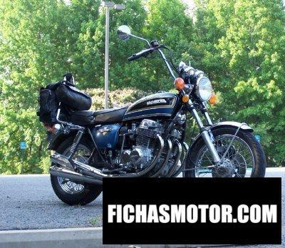 Imagen moto Honda cb 750 f año 1975
