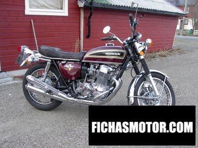 Imagen moto Honda cb 750 f año 1976
