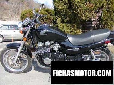 Ficha técnica Honda cb 750 f2 seven-fifty 1999