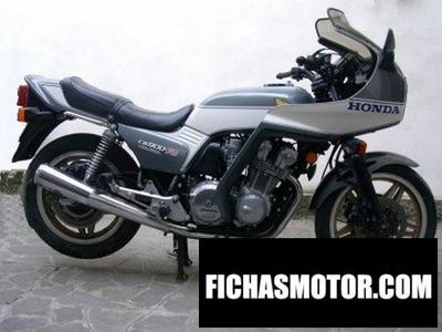 Imagen moto Honda cb 900 f 2 bol dor año 1982