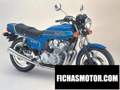 Ficha técnica Honda cb 900 f bol dor 1979