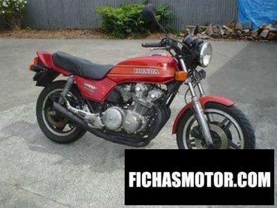 Ficha técnica Honda cb 900 f bol dor 1980