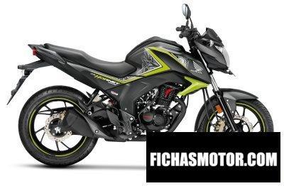 Ficha técnica Honda cb hornet 160r 2018
