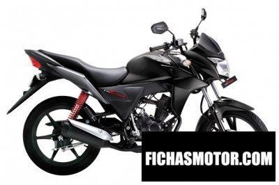 Imagen moto Honda cb twister año 2011