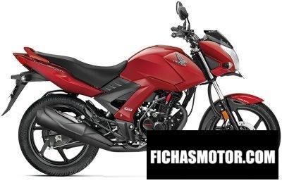 Imagen moto Honda cb unicorn 160 año 2017