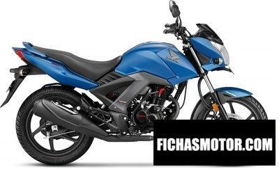 Imagen moto Honda cb unicorn 160 año 2018