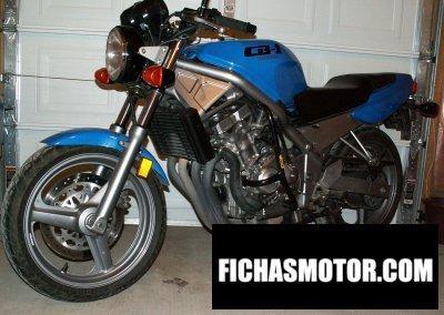 Imagen moto Honda cb1 año 1989