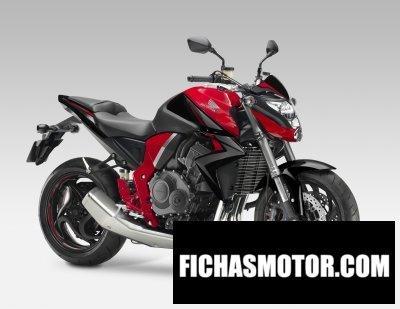 Ficha técnica Honda cb1000r 2015