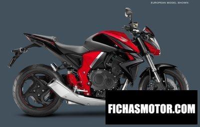 Ficha técnica Honda cb1000r 2016