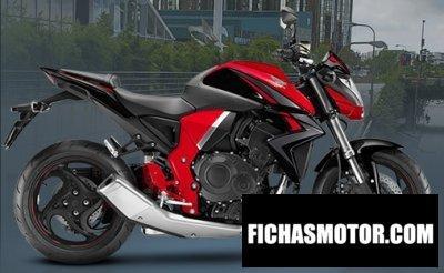 Imagen moto Honda cb1000r año 2017