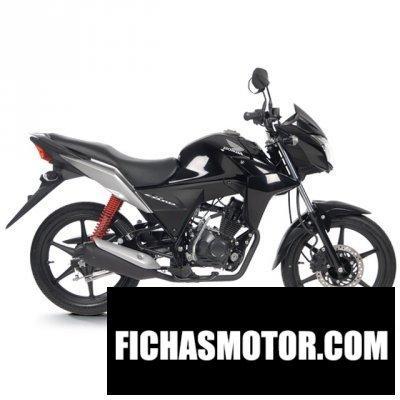 Ficha técnica Honda cb110 2014