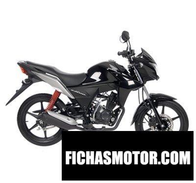 Ficha técnica Honda cb110 2015