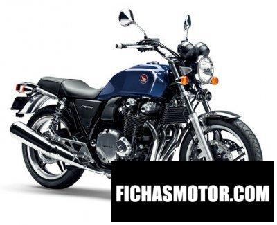 Imagen moto Honda cb1100 año 2017
