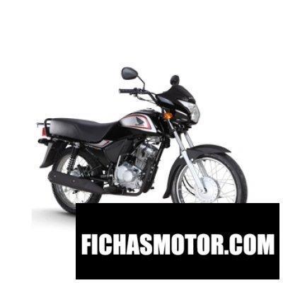 Imagen moto Honda cb125 cl año 2014