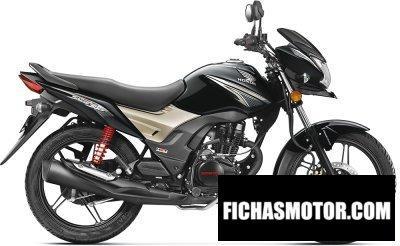 Imagen moto Honda cb125 shine sp año 2017