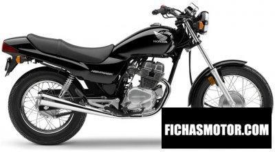 Imagen moto Honda cb250 nighthawk año 2008