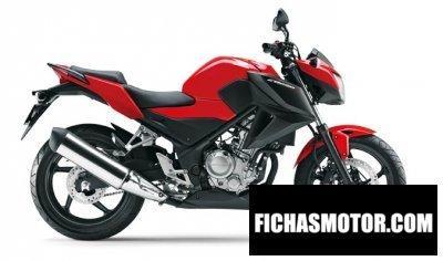 Imagen moto Honda cb250f año 2015