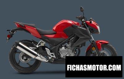 Ficha técnica Honda cb300f 2015