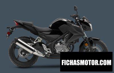Imagen moto Honda cb300f año 2016