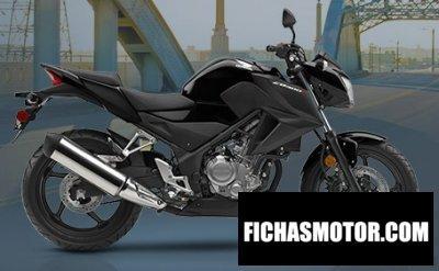Imagen moto Honda cb300f año 2017
