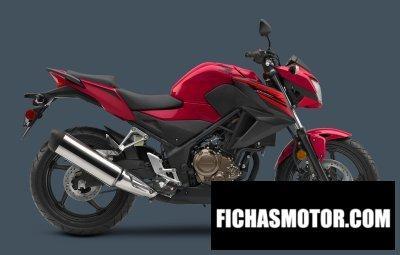 Ficha técnica Honda cb300f 2018