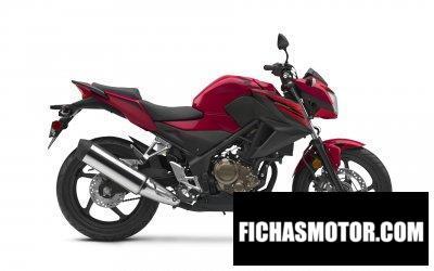 Ficha técnica Honda CB300F 2019